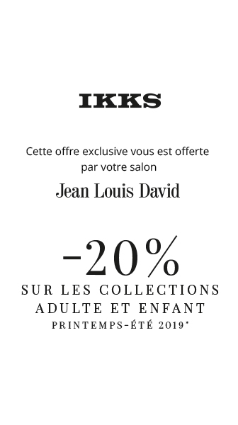 JEAN LOUIS DAVID X IKKS : Un partenariat 100% ROCK !